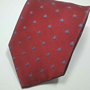 Brooks Brothers Stain Resistant Red - Sheep Print